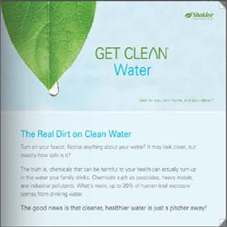 Shaklee Get Clean Water