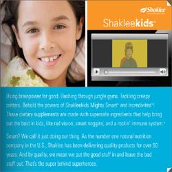 Shaklee Kid's Guide