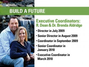 Shaklee Dream Plan: Build a Future