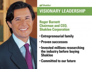 Shaklee Dream Plan: Visionary Leadership
