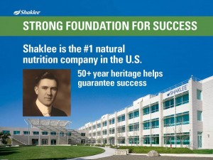 Shaklee Dream Plan: Strong Foundation for Success