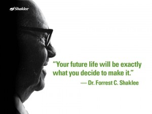 Shaklee Dream Plan: Dr. Shaklee and Your Future
