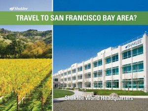Shaklee Dream Plan: Travel to San Francisco Bay Area