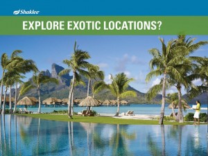 Shaklee Dream Plan: Explore Exotic Locations