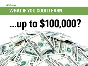 Shaklee Dream Plan: Earn up to $100,000