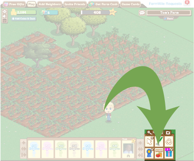 How to find the Market on FarmVille